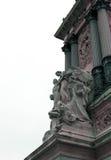 παλαιό άγαλμα θρησκείας madonna ανασκόπησης Στοκ εικόνες με δικαίωμα ελεύθερης χρήσης