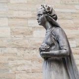 Παλαιό άγαλμα νεκροταφείων Στοκ Φωτογραφία