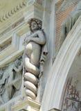 Παλαιό άγαλμα της βίλας meduza d'Este Στοκ Εικόνες