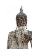 Παλαιό άγαλμα του Βούδα στο ιστορικό πάρκο Sukhothai Στοκ εικόνα με δικαίωμα ελεύθερης χρήσης