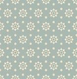 Παλαιό άνευ ραφής υπόβαθρο 556 εκλεκτής ποιότητας αστέρι γύρω από το λουλούδι Στοκ εικόνα με δικαίωμα ελεύθερης χρήσης