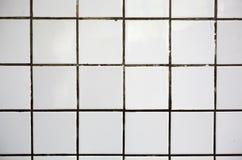 Παλαιό άσπρο κεραμίδι στοκ εικόνες
