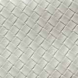 Παλαιό άσπρο leatherette Στοκ Εικόνα