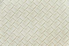 Παλαιό άσπρο leatherette Στοκ φωτογραφία με δικαίωμα ελεύθερης χρήσης