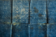 παλαιό έγγραφο ανασκόπηση Στοκ Φωτογραφίες