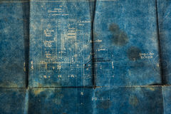 παλαιό έγγραφο ανασκόπηση Στοκ Εικόνα