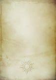 παλαιό έγγραφο ανασκόπηση Στοκ εικόνες με δικαίωμα ελεύθερης χρήσης
