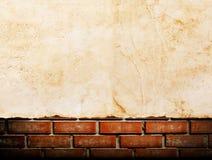 Παλαιό έγγραφο για το brickwall Στοκ Εικόνες
