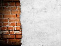 Παλαιό έγγραφο για το brickwall Στοκ φωτογραφίες με δικαίωμα ελεύθερης χρήσης