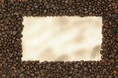 παλαιό έγγραφο καφέ φασο&lamb Στοκ Εικόνες