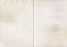 παλαιό έγγραφο σημειωματάριων Στοκ Εικόνες