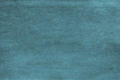Παλαιό έγγραφο σύστασης του γαλαζοπράσινου χρώματος Στοκ Φωτογραφία