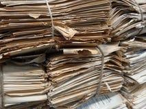 Παλαιό έγγραφο τσαντών Στοκ Φωτογραφίες