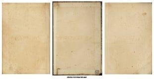 Παλαιό έγγραφο Grunge για το χάρτη ή τον τρύγο θησαυρών Στοκ Εικόνα