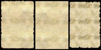 Παλαιό έγγραφο. (PNG) Στοκ φωτογραφίες με δικαίωμα ελεύθερης χρήσης