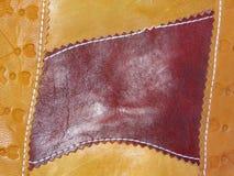 Παλαιό δέρμα χειροποίητο Στοκ Εικόνες
