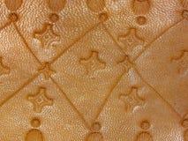 Παλαιό δέρμα χειροποίητο Στοκ Εικόνα