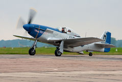 παλαιό αεροπλάνο μαχητών Στοκ φωτογραφίες με δικαίωμα ελεύθερης χρήσης