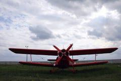 Παλαιό αεροπλάνο πυρκαγιάς Στοκ Φωτογραφίες
