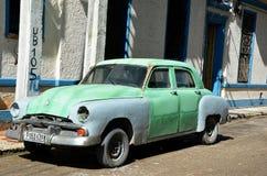 Παλαιό αμερικανικό αυτοκίνητο στην Αβάνα, Κούβα Στοκ Φωτογραφία