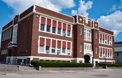 Παλαιό ανακαινισμένο καθολικό σχολείο Στοκ Εικόνες