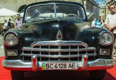 Παλαιό αναδρομικό αυτοκίνητο GAZ- 12 ZIM Στοκ Εικόνες