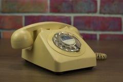 Παλαιό αναδρομικό περιστροφικό τηλέφωνο ύφους Στοκ Εικόνες