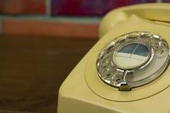 Παλαιό αναδρομικό περιστροφικό τηλέφωνο ύφους Στοκ φωτογραφίες με δικαίωμα ελεύθερης χρήσης