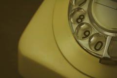 Παλαιό αναδρομικό περιστροφικό τηλέφωνο ύφους Στοκ Φωτογραφία