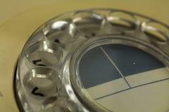 Παλαιό αναδρομικό περιστροφικό τηλέφωνο ύφους Στοκ Φωτογραφίες