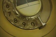Παλαιό αναδρομικό περιστροφικό τηλέφωνο ύφους Στοκ εικόνα με δικαίωμα ελεύθερης χρήσης