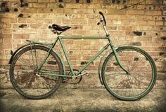 Παλαιό αναδρομικό ποδήλατο Στοκ φωτογραφία με δικαίωμα ελεύθερης χρήσης