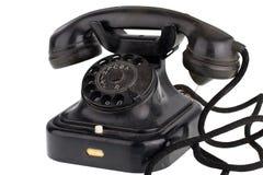 παλαιό αναδρομικό τηλέφων&om Στοκ Εικόνα