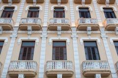 Παλαιό αποικιακό κτήριο στην Αβάνα Vieja Κούβα Στοκ εικόνες με δικαίωμα ελεύθερης χρήσης