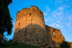 Παλαιό αρχαίο φρούριο πετρών Στοκ Εικόνες