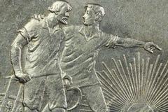 Παλαιό ασημένιο νόμισμα Στοκ Φωτογραφίες