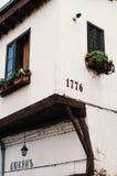 Παλαιό αυθεντικό σπίτι Bilgarian αρχιτεκτονικός-εθνογραφικό σε σύνθετο bulblet Στοκ φωτογραφία με δικαίωμα ελεύθερης χρήσης