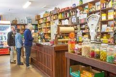 Παλαιό αυστραλιανό γενικό κατάστημα στοκ εικόνα