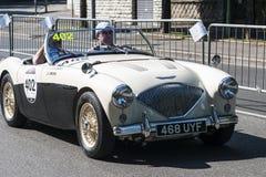 Παλαιό αυτοκίνητο στη φυλή Mille Miglia Στοκ Φωτογραφίες