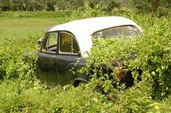 Παλαιό αυτοκίνητο στις καταστροφές Andaman Στοκ Εικόνα