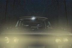 Παλαιό αυτοκίνητο τέχνης Στοκ Φωτογραφίες