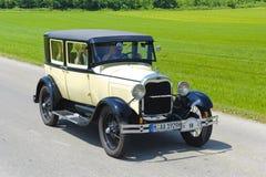 Παλαιό αυτοκίνητο χρονομέτρων Στοκ Εικόνα