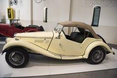 Παλαιό αυτοκίνητο MG Στοκ Εικόνες