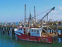 Παλαιό αλιευτικό πλοιάριο αλιείας Provincetown Στοκ Εικόνα