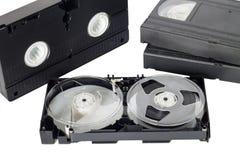 παλαιό βίντεο ταινιών Στοκ Φωτογραφίες