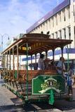 Παλαιό βαγόνι εμπορευμάτων τραμ στην κύρια πλατεία Plaza Prat σε Iquique, Χιλή Στοκ φωτογραφία με δικαίωμα ελεύθερης χρήσης