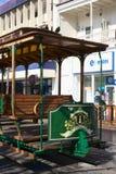 Παλαιό βαγόνι εμπορευμάτων τραμ στην κύρια πλατεία Plaza Prat σε Iquique, Χιλή Στοκ Εικόνα