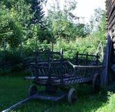 παλαιό βαγόνι εμπορευμάτ&omeg Στοκ φωτογραφία με δικαίωμα ελεύθερης χρήσης