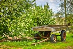 παλαιό βαγόνι εμπορευμάτ&omeg Στοκ Φωτογραφία