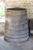 Παλαιό βαρέλι κρασιού στο μοναστήρι Dryanovo στη Βουλγαρία Στοκ φωτογραφία με δικαίωμα ελεύθερης χρήσης